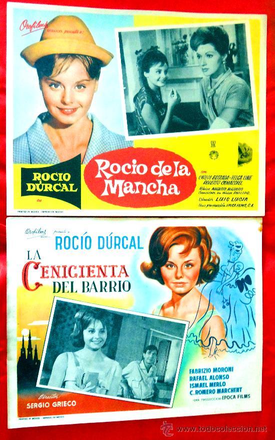 Cine: (COLECCION DE 7 LOBBY CARD DE ROCIO DURCAL (MARIETA) VARIAS PELICULAS - Foto 2 - 35568198