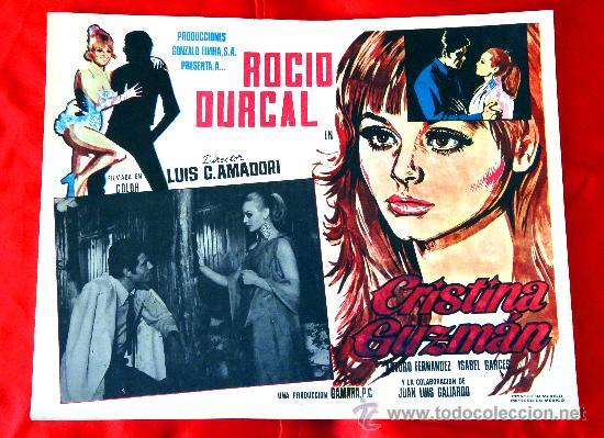 Cine: (COLECCION DE 7 LOBBY CARD DE ROCIO DURCAL (MARIETA) VARIAS PELICULAS - Foto 3 - 35568198