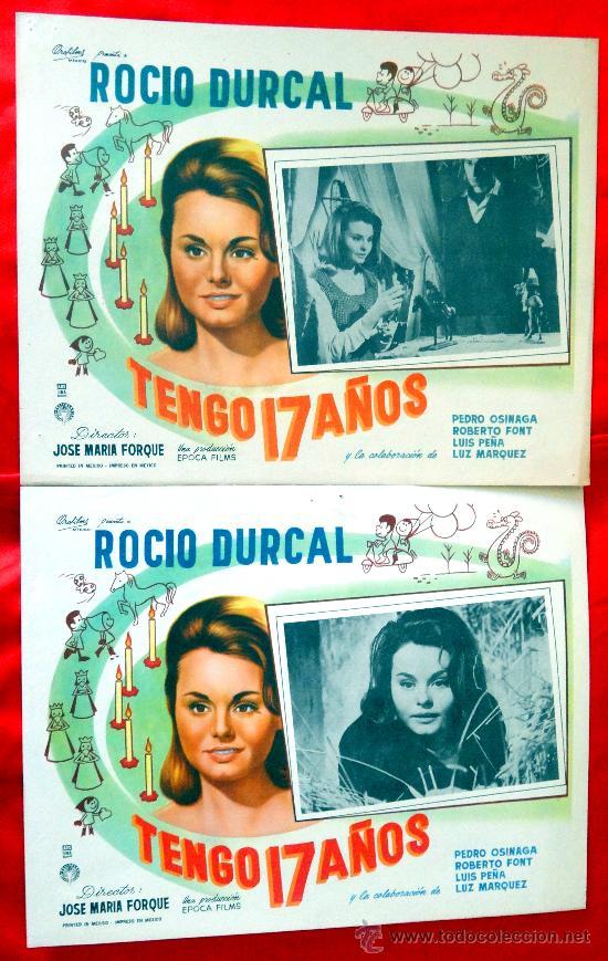 Cine: (COLECCION DE 7 LOBBY CARD DE ROCIO DURCAL (MARIETA) VARIAS PELICULAS - Foto 4 - 35568198
