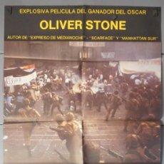 Cine: SALVADOR,JAMES WOODS CARTEL DE CINE ORIGINAL 70X100 APROX (7479). Lote 35621632