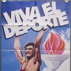 Cine: QC91 VIVA EL DEPORTE OLIMPIADAS JUEGOS OLIMPICOS MOSCU 1980 POSTER ORIGINAL 70X100 ESTRENO. Lote 35622860