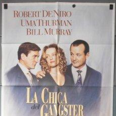 Cine: LA CHICA DEL GANGSTER,ROBERT DE NIRO,UMA THURMAN CARTEL DE CINE ORIGINAL 70X100 APROX (7770). Lote 35638113