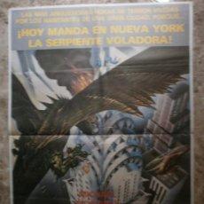Cine: LA SERPIENTE VOLADORA. MICHAEL MORIARTY, DAVID CARRADINE, RICHARD ROUNDTREE.. Lote 35665220