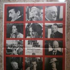 Cine: ASESINATO EN EL ORIENT EXPRESS. ALBERT FINNEY, SEAN CONNERY, INGRID BERGMAN. AÑO 1974. Lote 116411003