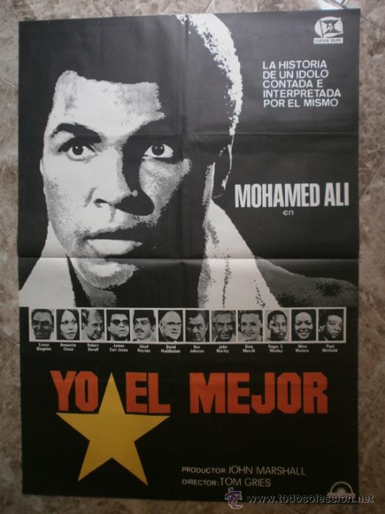 YO EL MEJOR. MOHAMED ALI, ERNEST BORGNINE, ANNAZETTE CHASE (Cine - Posters y Carteles - Deportes)