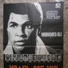 Cine: YO EL MEJOR. MOHAMED ALI, ERNEST BORGNINE, ANNAZETTE CHASE. Lote 118254344