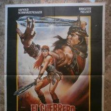 Cine: EL GUERRERO ROJO. ARNOLD SCHWARZENEGGER, BRIGITTE NIELSEN. AÑO 1986.. Lote 35670942