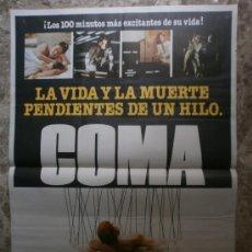 Cine: COMA. MICHAEL DOUGLAS, GENEVIEVE BUJOLD, ELIZABETH ASHLEY, RIP TORN.. Lote 35682166