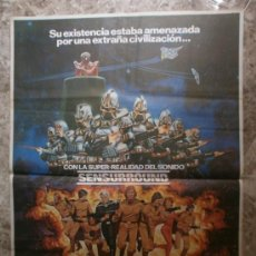Cine: MISION GALACTICA : CYLON ATACA - RICHARD HATCH - DIRK BENEDICT. AÑO 1979. Lote 86731838