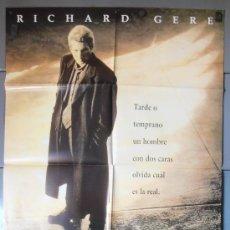 Cine: LAS DOS CARAS DE LA VERDAD,RICHARD GERE CARTEL DE CINE ORIGINAL 70X100 APROX (7829). Lote 35682713