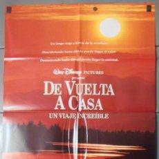 Cine: DE VUELTA A CASA,DISNEY CARTEL DE CINE ORIGINAL 70X100 APROX (7882). Lote 35684739