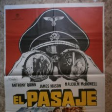 Cine: EL PASAJE. ANTHONY QUINN, JAMES MASON, MALCOLM MCDOWELL. AÑO 1979. Lote 35686534