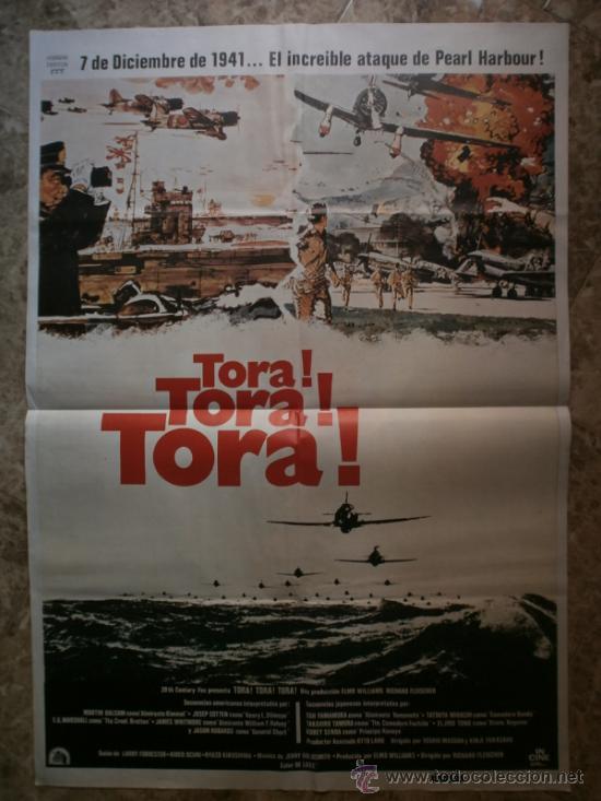 TORA ! TORA ! TORA ! MARTIN BALSAM, SOH YAMAMURA. AÑO 1980. (Cine - Posters y Carteles - Bélicas)