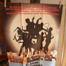 Cinema: EL JUEGO DE LA SOSPECHA, CARTEL DE CINE ORIGINAL 70X100 APROX (1036). Lote 35735294