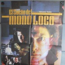 Cine: EL SUEÑO DEL MONO LOCO, CARTEL DE CINE ORIGINAL 70X100 APROX (1173). Lote 35738292