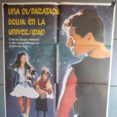 Cine: UNA DISPARATADA BRUJA EN LA UNIVERSIDAD, CARTEL DE CINE ORIGINAL 70X100 APROX (1175). Lote 35738306