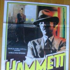 Cine: POSTER ORIGINAL ITALIANO - EL HOMBRE DE CHINATOWN - FREDERIC FORREST - PETER BOYLE - WIM WENDERS. Lote 35770036