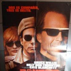 Cine: BANDITS,BRUCE WILLIS CARTEL DE CINE ORIGINAL 70X100 APROX (1380). Lote 35754525