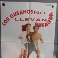 Cine: LOS GUSANOS NO LLEVAN BUFANDA, CARTEL DE CINE ORIGINAL 70X100 APROX (1788). Lote 35776222
