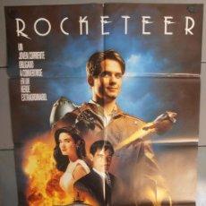 Cine: ROCKETEER, CARTEL DE CINE ORIGINAL 70X100 APROX (1995). Lote 35784234