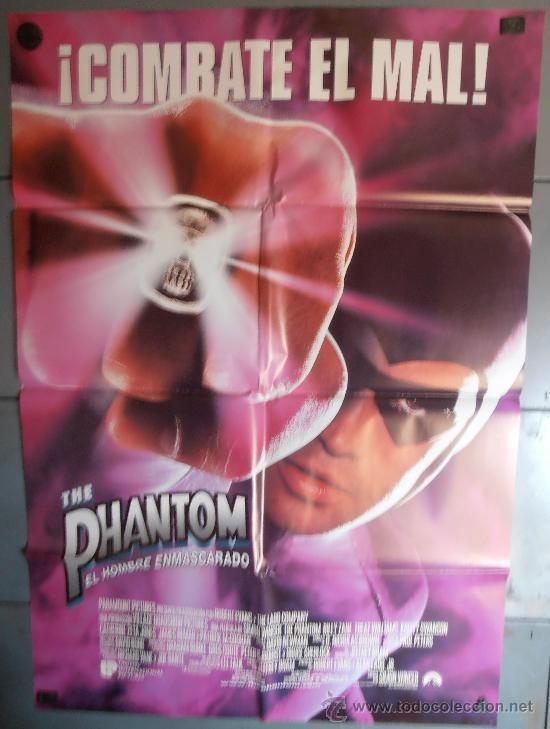 THE PHANTOM (EL HOMBRE ENMASCARADO), CARTEL DE CINE ORIGINAL 70X100 APROX (2117) (Cine - Posters y Carteles - Acción)