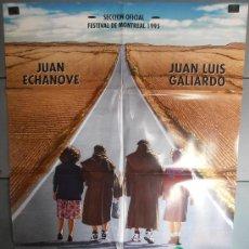 Cine: SUSPIROS DE ESPAÑA (Y DE PORTUGAL),JUAN ECHANOVE, JUAN LUIS GALIARDO CARTEL DE CINE ORIGINAL 70X100 . Lote 35793161