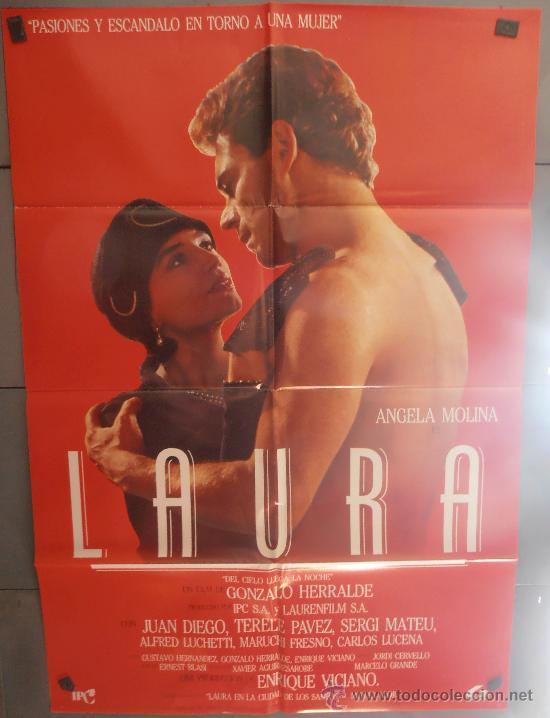 LAURA,ANGELA MOLINA, JUAN DIEGO CARTEL DE CINE ORIGINAL 70X100 APROX (2506) (Cine- Posters y Carteles - Drama)