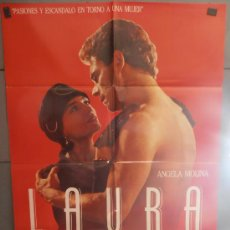 Cine: LAURA,ANGELA MOLINA, JUAN DIEGO CARTEL DE CINE ORIGINAL 70X100 APROX (2506). Lote 35796965