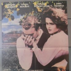 Cine: REGRESO A HOWARDS END, CARTEL DE CINE ORIGINAL 70X100 APROX (2799). Lote 35801131