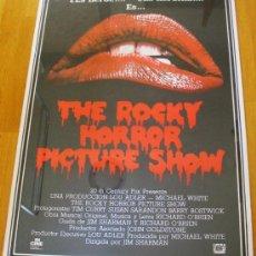 Cine: POSTER ORIGINAL ESPAÑOL - THE ROCKY HORROR PICTURE SHOW - TIM CURRY SUSAN SARANDON BARRY BOSTWICK. Lote 36828168