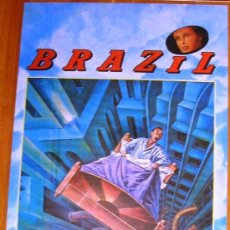 Cine: POSTER ORIGINAL ESPAÑOL - BRAZIL - TERRY GILLIAM - JONATHAN PRYCE - KIM GREIST - ROBERT DE NIRO. Lote 35821321