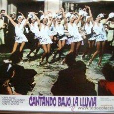 Cine: CARTEL FOTOGRAMA PELÍCULA *CANTANDO BAJO LA LLUVIA* (1952) - GENE KELLY, DEBBIE REYNOLDS, .... Lote 35823215