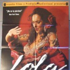 Cine: LOLA LA PELICULA, CARTEL DE CINE ORIGINAL 70X100 APROX (7969). Lote 35853519