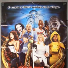 Cine: SCARY MOVIE 4, CARTEL DE CINE ORIGINAL 70X100 APROX (8233). Lote 35877111