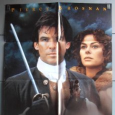 Cinema: ROBINSON CRUSOE,PIERCE BROSNAN CARTEL DE CINE ORIGINAL 70X100 APROX (2933). Lote 35878413