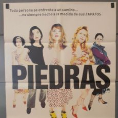 Cine: PIEDRAS,ANGELA MOLINA CARTEL DE CINE ORIGINAL 70X100 APROX (3041). Lote 35879074
