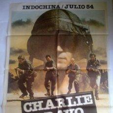 Cine: PÓSTER ORIGINAL CHARLIE BRAVO . Lote 35925789