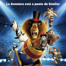 Cine: CARTEL DE CINE MADAGASCAR 3 // ORIGINAL TAMAÑO 70X100. Lote 35951930