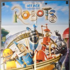 Cine: ROBOTS, CARTEL DE CINE ORIGINAL 70X100 APROX (8457). Lote 35963735
