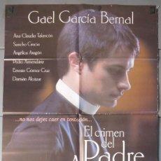 Cine: EL CRIMEN DEL PADRE AMARO, CARTEL DE CINE ORIGINAL 70X100 APROX (8503). Lote 35966169