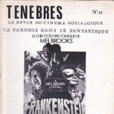 Cine: REVISTA TERROR TENEBRES 22. Lote 35979443