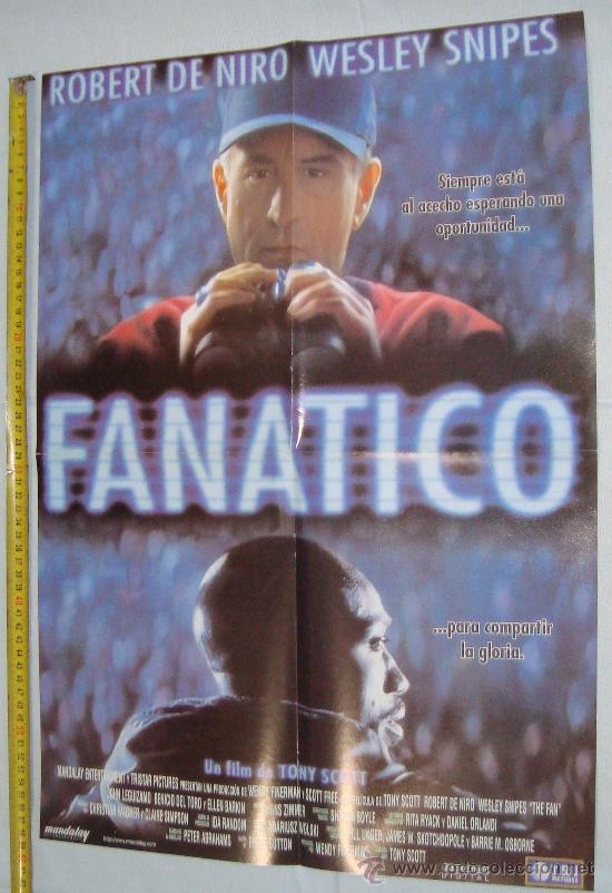 POSTER PELICULAS - FANATICO Y UN PADRE EN APUROS, 56 X 40 CM (Cine - Posters y Carteles - Acción)