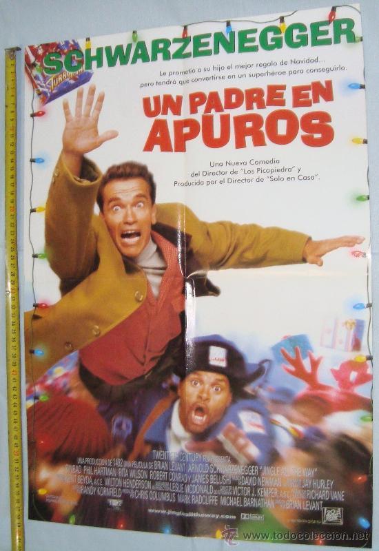 Cine: POSTER PELICULAS - FANATICO Y UN PADRE EN APUROS, 56 X 40 CM - Foto 2 - 36018980