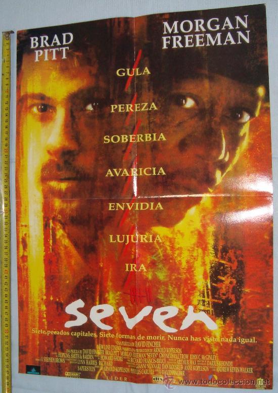 Cine: POSTER VAN DAMM PELICULAS - MUERTE SUBITA Y SEVEN, 56 X 40 CM - Foto 2 - 36019606