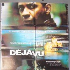 Cine: DEJAVU,CARTEL DE CINE ORIGINAL 70X100 CM CON ALGUN DEFECTO A 1€,VER FOTO (8328). Lote 36026444