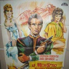 Cine: LA MUERTE SE LLAMA MIRIAM EUGENIO MARTIN SOLIGO POSTER ORIGINAL 70X100 YY ESTRENO(398). Lote 36028558