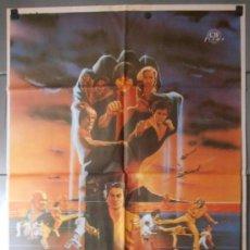 Cine: LOS 5 INVENCIBLES, CARTEL DE CINE ORIGINAL 70X100 APROX (8869). Lote 36040914