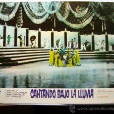 Cine: CARTEL FOTOGRAMA PELÍCULA *CANTANDO BAJO LA LLUVIA* (1952) - GENE KELLY, DEBBIE REYNOLDS, .... Lote 36105400