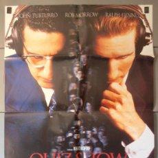 Cinema: QUIZ SHOW, CARTEL DE CINE ORIGINAL 70X100 APROX (3669). Lote 36112838