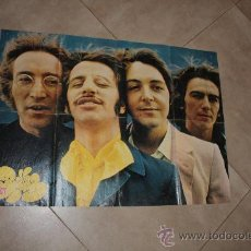 Cine: POSTER DE BEATLES MUNDO JOVEN AÑO 1970 MIDE 52X73 ORIGINAL DE EPOCA . Lote 36128461